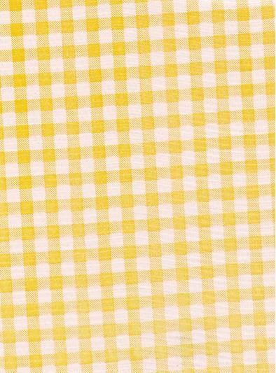 """Standard Vinyl Oilcloth Roll 47"""" x 36 ft. Yellow squares finish"""