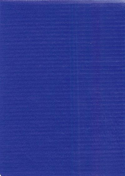 "Standard Vinyl Oilcloth Roll 47"" x 36 ft. Smooth Blue finish"