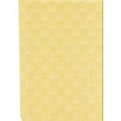 "Luxury Vinyl Oilcloth Roll 55"" x 82ft. Sevilla beige squares finish"