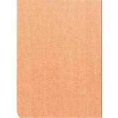 "Luxury Vinyl Oilcloth Roll 55"" x 82ft. Flax salmon finish"