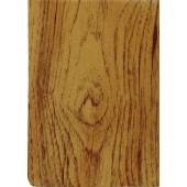 "Luxury Vinyl Oilcloth Roll 55"" x 82ft. Pine wood finish"