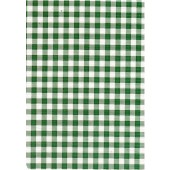 """Standard Vinyl Oilcloth Roll 47"""" x 36 ft. Green squares finish, by Oilcloths.com"""