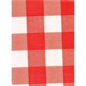Chessmate red and white squares finish