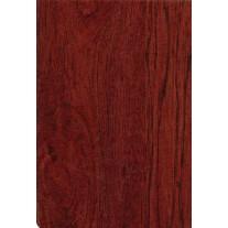 "Luxury Vinyl Oilcloth Roll 55"" x 82ft. Hazelnut wood finish"