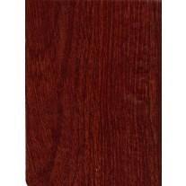 "Luxury Vinyl Oilcloth Roll 55"" x 82ft. Mahogany wood finish"