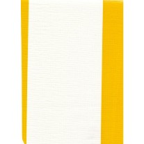 """Standard Vinyl Oilcloth Roll 47"""" x 36 ft. Yellow strips finish, by Oilcloths.com"""