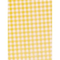 """Standard Vinyl Oilcloth Roll 47"""" x 36 ft. Yellow squares finish, by Oilcloths.com"""