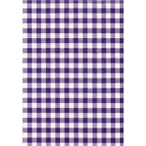 """Standard Vinyl Oilcloth Roll 47"""" x 36 ft. Blue squares finish, by Oilcloths.com"""